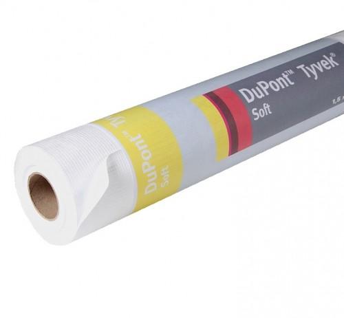 Пленка гидроизоляционная Tyvek Soft (1.5х50 м)