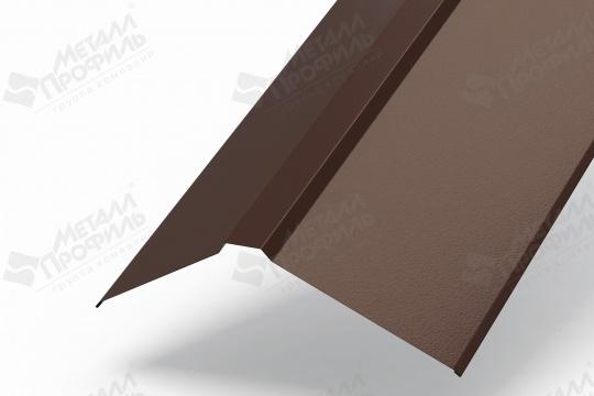 Планка плоского конька 190х190х2000